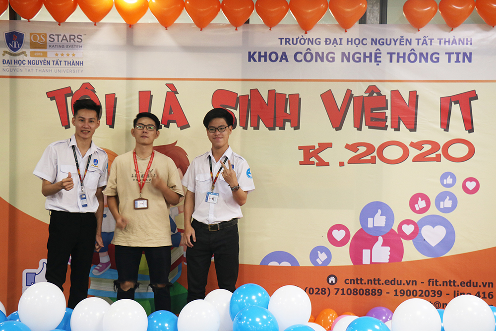 Khai giảng chào đón Tân Sinh viên Công nghệ thông tin Khóa 2020