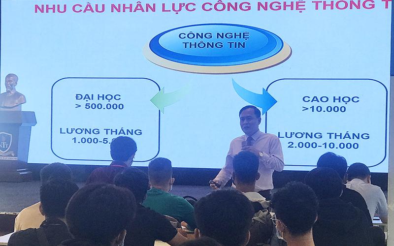 Tư vấn Sinh viên học Cao học Công nghệ Thông tin ĐH Nguyễn Tất Thành