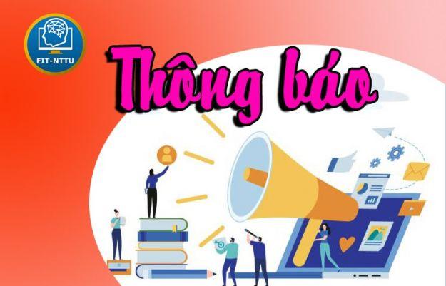 Thông báo sinh hoạt thực tập tốt nghiệp HK1 21-22
